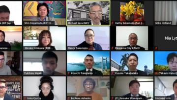 US-Japan Young Professionals Forum: San Jose-Okayama
