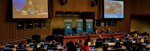 国連本部にてSDGs講演